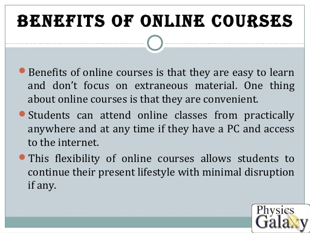 Benefits of Online Training Courses