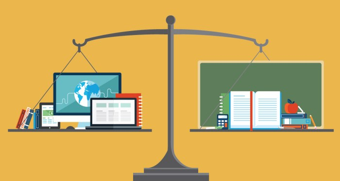 Traditional Courses Vs Online Education